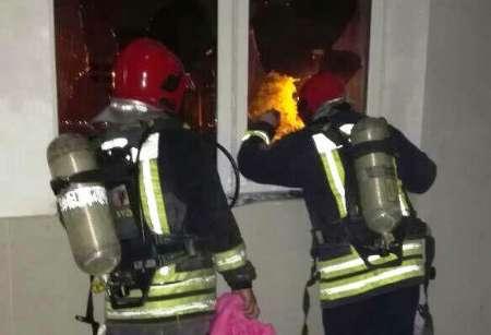 آتش سوزی در بیمارستان مهر اهواز