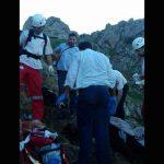 عکسی دردناک از سقوط مرگبار دانشجوی تبریزی