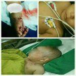 آزار وحشیانه و بی رحمانه کودک یک ساله در سیرجان