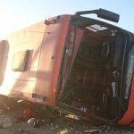 آخرین بررسیها از واژگونی اتوبوس دانشآموزان هرمزگانی
