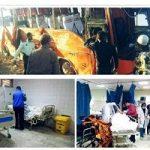 رفع خطر قطع نخاع یک دانشآموز و مربی حادثه داراب