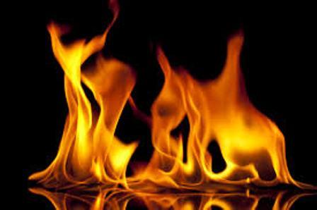 آتش زدن زنی به صورت زنده توسط یک مرد در بجنورد!