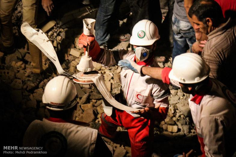 انفجار مرگبار گاز در کوی رمضان اهواز!