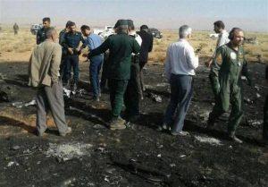 سقوط جنگنده سپاه در استان فارس | خلبان به شهادت رسید