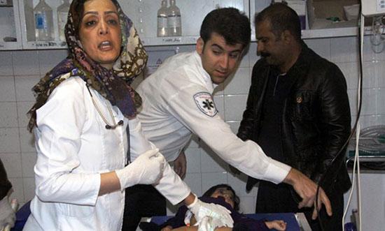 امدادرسانی به مصدومان زلزله در بیمارستان!