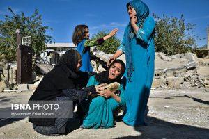 خسارات زلزله در روستاهای کرمانشاه