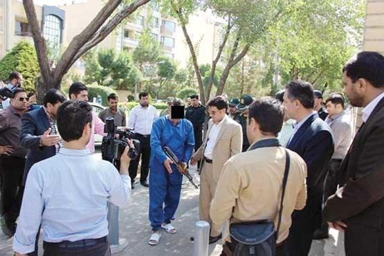 اعدام در انتظار دزد مسلح ۲۲ بانک شیراز و اصفهان!