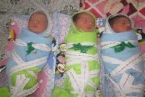 پدربی رحم بوکانی نوزادان سه قلویش را سر راه گذاشت!