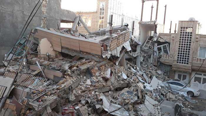 تصاویری از عمق خسارات زلزله ۷٫۳ رییشتری غرب کشور
