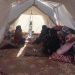 نبض زندگی اینجا تندتر می زند   وضعیت زندگی بازمانده ها در چادرهای هلال احمر