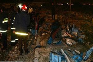 حادثه انفجار در شرکت خمیر مایه دزفول