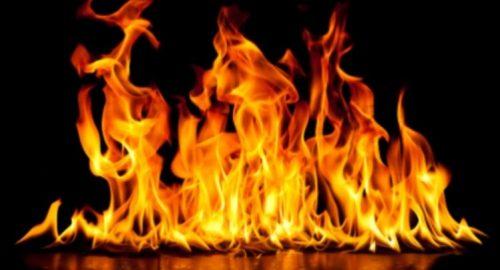 آتش زدن پدر توسط پسر در برازجان