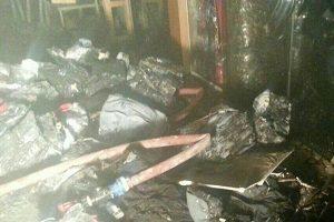 آتش سوزی گسترده در پاساژ فردوسی واقع در کوچه بِرلن