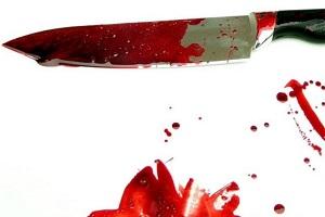 مادرزن به طرفداری از دخترش، با چاقو به جان داماد خود افتاد!