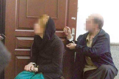 حمله چهار مرد به مغازه آرایشی