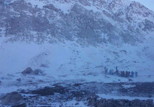 مفقود شدن کوهنوردان زنجانی
