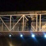 خودکشی دختر جوان از پل عابر پیاده خیابان آزادی!