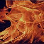 ماجرای جان دادن مرد دستفروش در میان شعله های آتش!