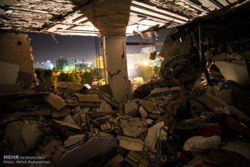 انفجار در اسلامشهر