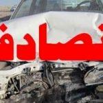 مرگ زن جوان در تصادف با راننده مست که دوست دخترش همراهش بود!