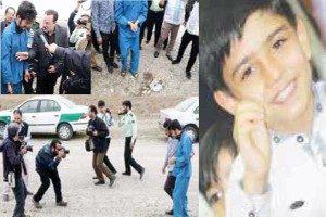 اعدام قاتل بی رحم پسر ۱۰ ساله مشهدی در ملأعام + عکس