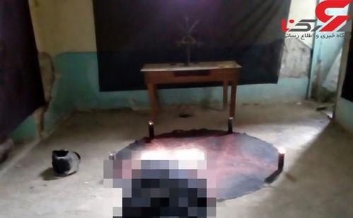 قتل زن توسط مرد شیطان پرست