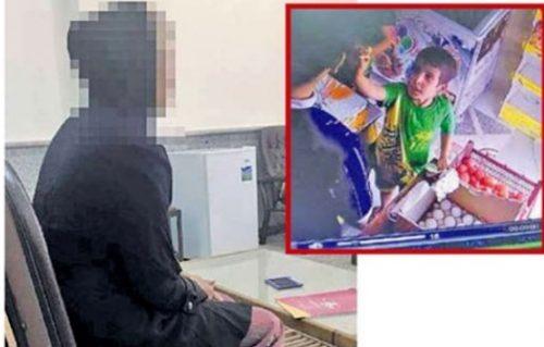 اعترافات دختر جوانی که جسد امیر علی , پسر خردسال را آتش زد!!