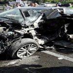 مرگ زن جوان تویوتا سوار در تصادفی شدید در تهران + تصاویر
