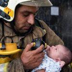 تصاویری از آتشسوزی در مجتمع مسکونی پارامیس در تهران!