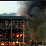 تصاویری از آتشسوزی مرگبار یک منزل مسکونی در دهدشت!