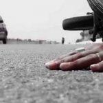 تصویری از سقوط خودروی عروس و داماد آملی هنگام فیلمبرداری!!