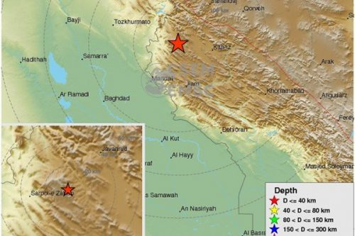 زلزله 5.9 ریشتری در کرمانشاه