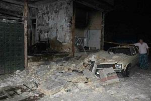 تصاویری از انفجار شدید ساختمان مسکونی در تهران!