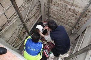 سقوط آسانسور یک برج در غرب تهران , ۶ نفر کشته شدند!