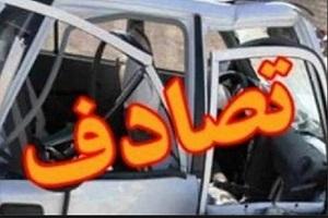 تصادف خونین و مرگبار خودروی حامل زائران ایرانی!