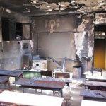 آخرین وضعیت سوختگی دانش آموزان به دلیل آتش سوزی در مدرسه