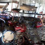تصویر منتشر شده از سه کودک جان باخته در آتش سوزی مدرسه