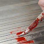حمله ی دختر خون آشام با چاقو به نامزدش