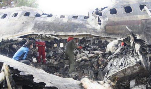 بار هواپیمای سقوط کرده