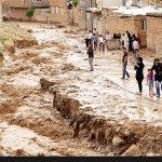 خرابی های به بار آمده سیل در شهرستان پلدختر