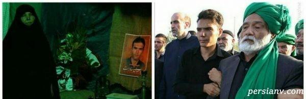 ضرب و شتم پدر شهید مدافع حرم توسط پنجه بوکس!!!