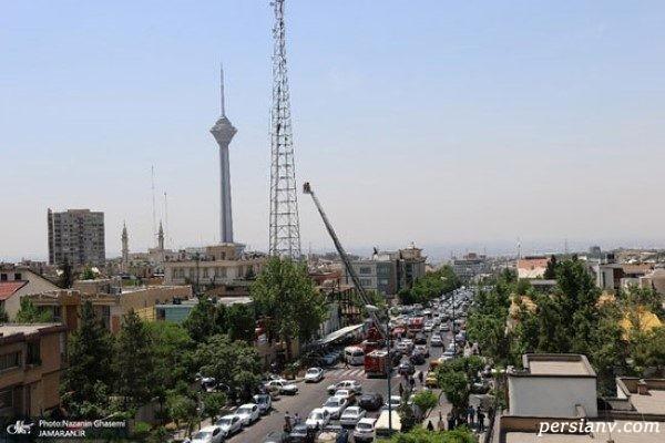 اقدام به خودکشی یک دختر جوان در شهرک غرب تهران!! + تصاویر