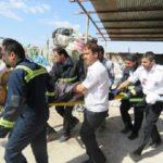 مرگ دردناک یک کارگر در کارخانه | لباس زن به دستگاه گیر کرد و وارد دستگاه فشرده سازی شد