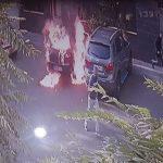 آتش سوزی خودرو دختر مورد علاقه به همراه خود او به خاطر جواب رد