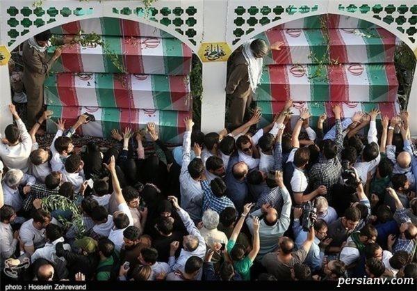 تشییع شهدا در تهران