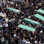 چند و چون ماجرای عجیب در مراسم تشییع شهدا در تهران
