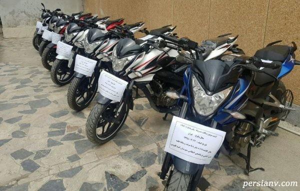 سارق موتور سیکلت تهران که همه را بی هوش می کرد | عکس بدون پوشش متهم
