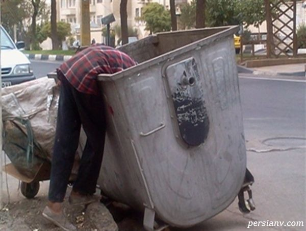 مرد زباله گرد صحنه هولناکی را با باز کردن جعبه شیشه ای دید