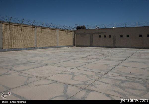 انفجار هولناک در زندان مرکزی تهران باعث زنده زنده سوختن ۵ زندانی شد !