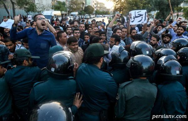 درگیری در مشهد